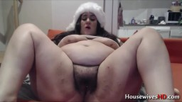 BBW Layla will give you fat pussy present before christmas