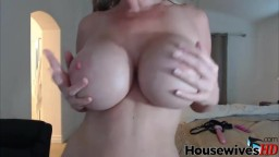 Voluptuous mistress with big boobs will fulfil your desire