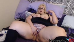 420 friendly BBW goddess Leah with lush belly and booty
