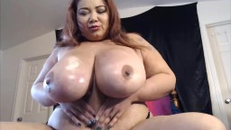Asian Celebrity BBW Miss LingLing with massive breasts