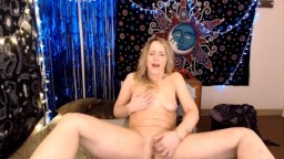 Cougar Summer Woods with perky nipples fingering vagina