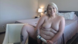 Canadian BBW Miss Kay with a cute voice is ready to please