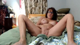 Horny mature temptress Nicki Brice with immense melons