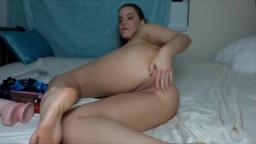 Natasha Nice eats panties and puts fingers in the ass