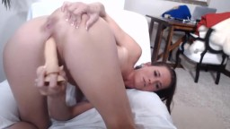 Actual XXX cougar Sophie Marie has fun with her fan