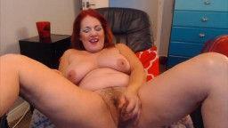Redhead granny gets bad and naughty in Las Vegas