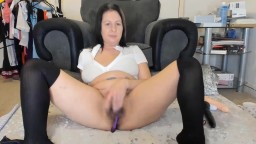 British housewife Missy wants to feel your cock inside