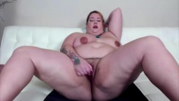 Plushy pregnant goddess Kristin Kervz with hairy pussy