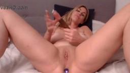 Horny Canadian pale bombshell Britt Jackson