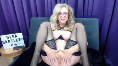 legendary cougar Nina Hartley is looking for a hunter for her ass