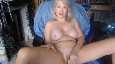 Pale British housewife Christie is open to naughty requests