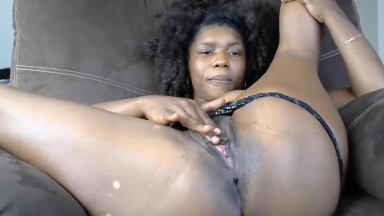 Black MILF will warm you up with her every sexual move