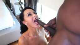 Mature cockaholic Rita Daniels with big tits takes a BBC