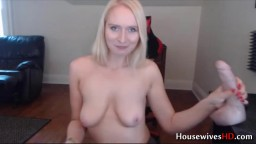 Stunning housewife Alexa with sexy British accent and moan